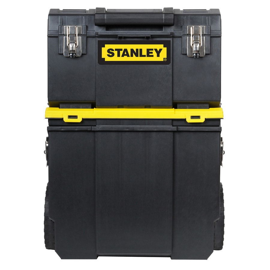 Stanley 24.8-in x 11-in 1-Drawer Tool Chest (Black)