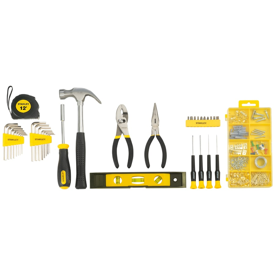 Stanley Household Tool Set with Soft Case
