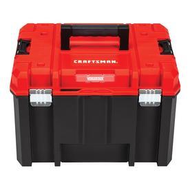 Craftsman Versastack System 17 In Red Plastic Tool Box