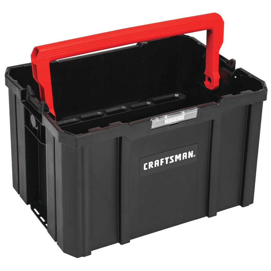 Craftsman Versastack System 17 In Red Plastic Tool Box At