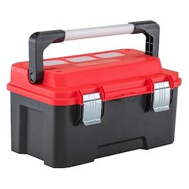 CRAFTSMAN PRO 20.09-in Plastic Lockable Tool Box (Red)