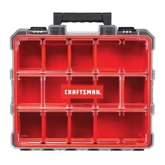 Craftsman Pro Organizers 12 Compartment Plastic Small Parts Organizer In The Small Parts Organizers Department At Lowes Com