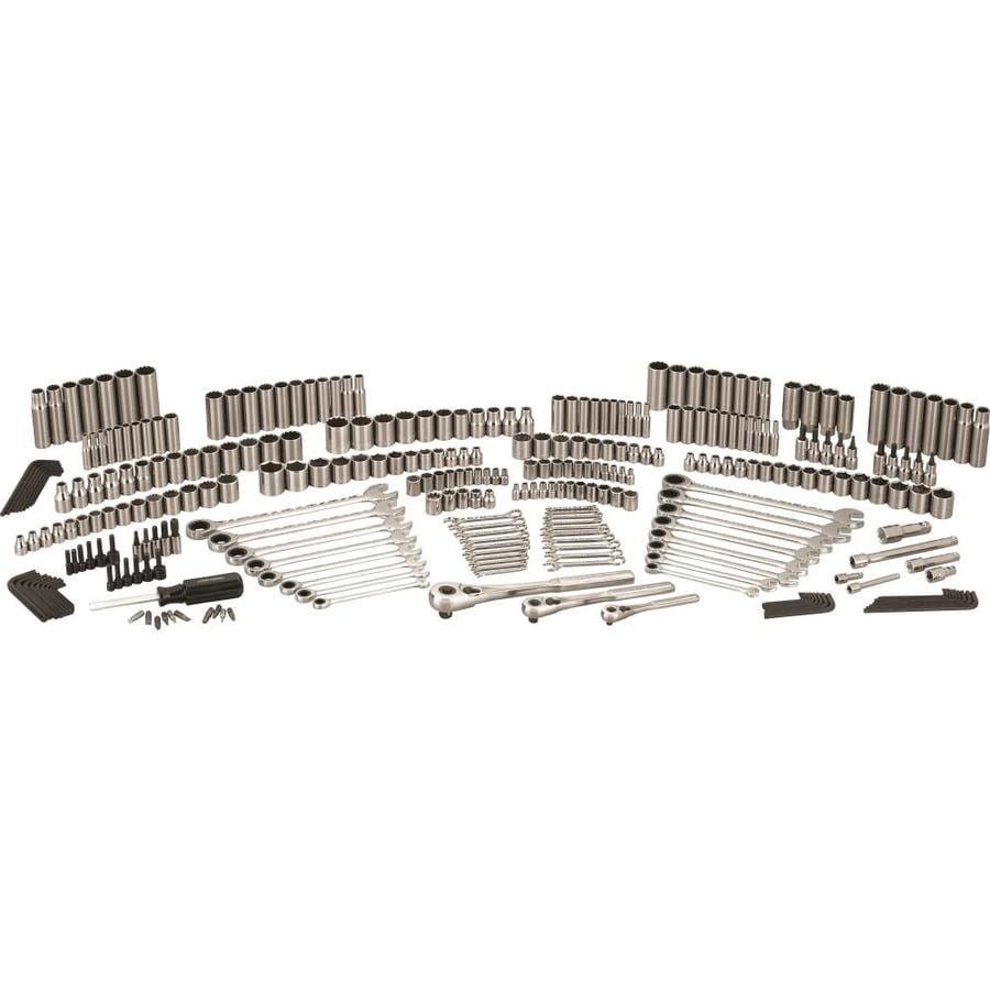 Shop Craftsman 309 Piece Standard Sae And Metric Polished Chrome