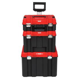 Craftsman Versastack System 21 In Drawer Black Plastic Wheeled Lockable Tool Box