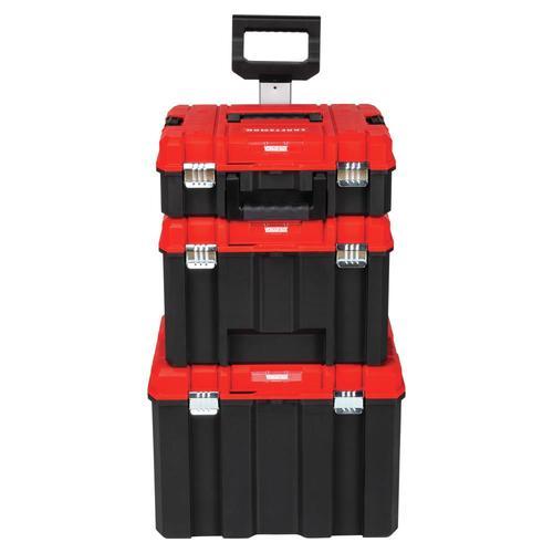 Craftsman Versastack System 21 In Drawer Black Plastic Wheeled Lockable Tool Box At Lowes