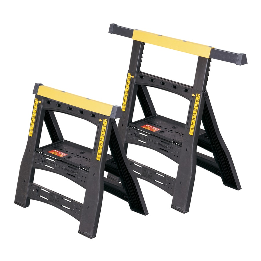 Stanley ABS Plastic with Anti-Slip Rubber Bases Saw Horse