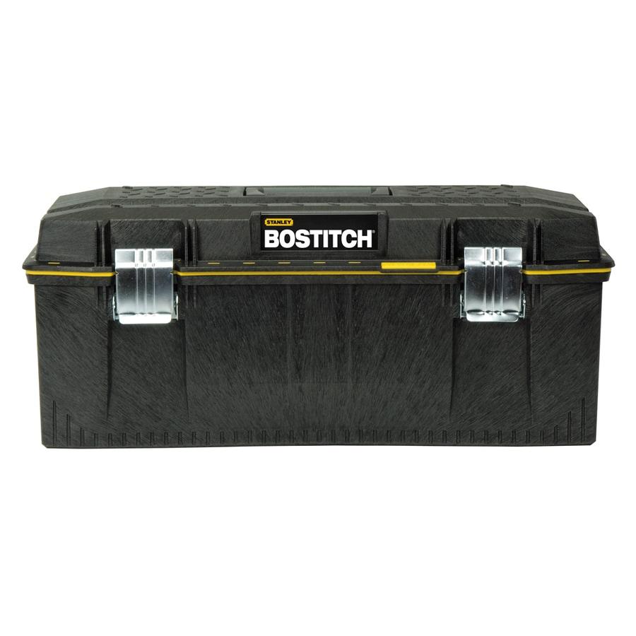 Stanley 12-in Black Structural Foam Lockable Tool Box