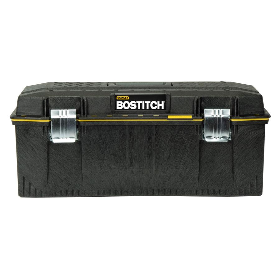 Stanley 12.5-in Black Structural Foam Lockable Tool Box