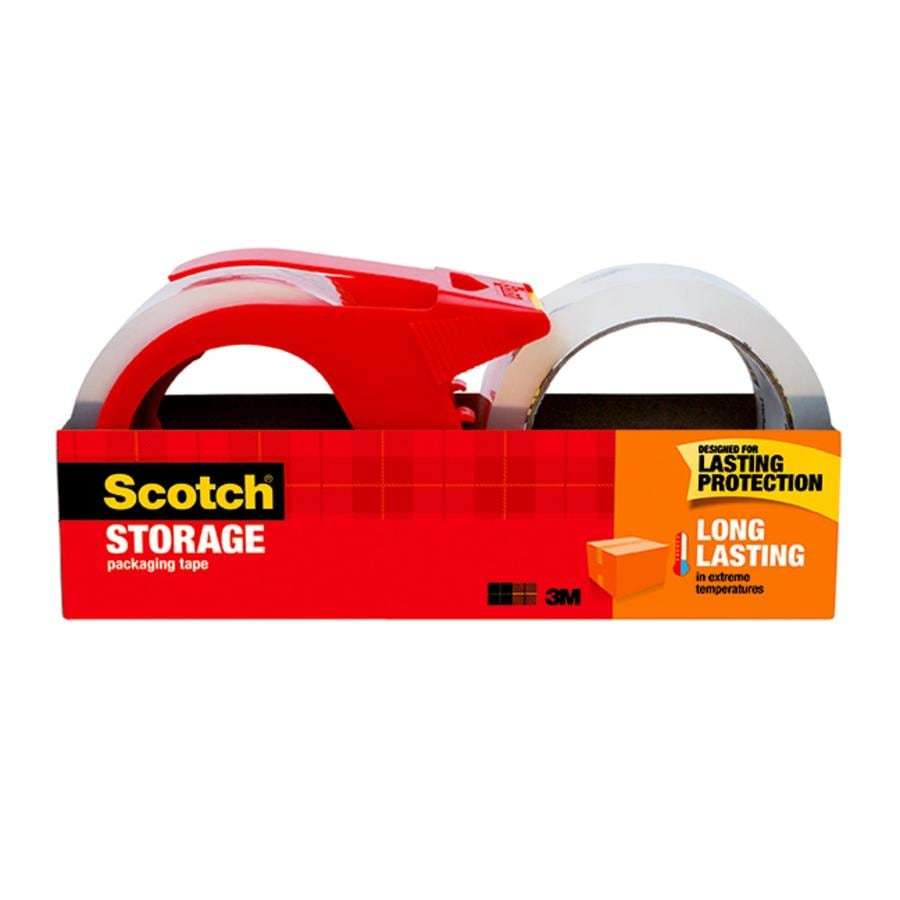 Scotch Storage 2 Pack 188 In X 656 Yard Clear Packing Tape
