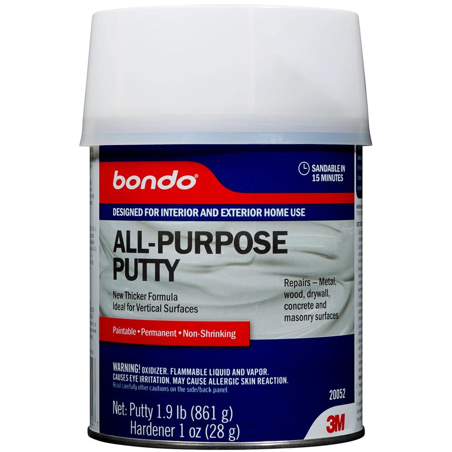 Shop Bondo 28 Oz Gray Patching Compound At Lowes Com