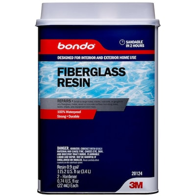 Bondo 127 99-fl oz Brown Fiberglass Resin Repair at Lowes com