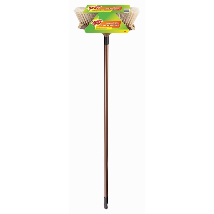 Scotch-Brite 11-in Plastic Soft Upright Broom