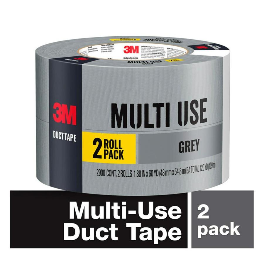 3M Tough 1.88-in Gray Duct Tape