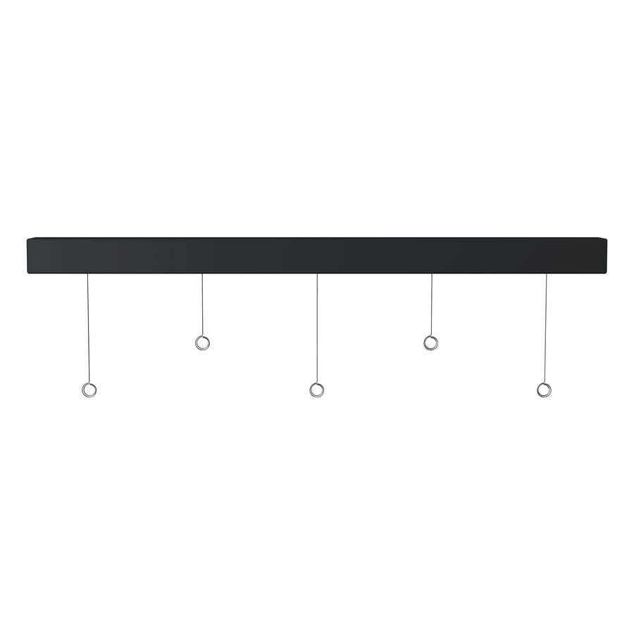 Command 24-in W x 1-in H x 1-in D Plastic Wall Mounted Shelving