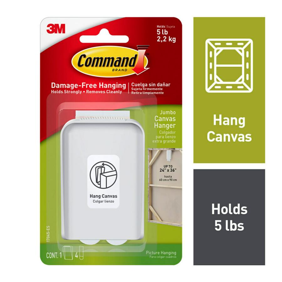 Command White Adhesive Hook