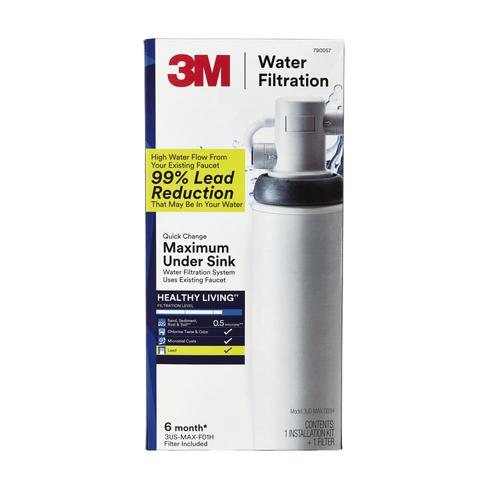 3m Single Stage Under Sink Water Filtration System At