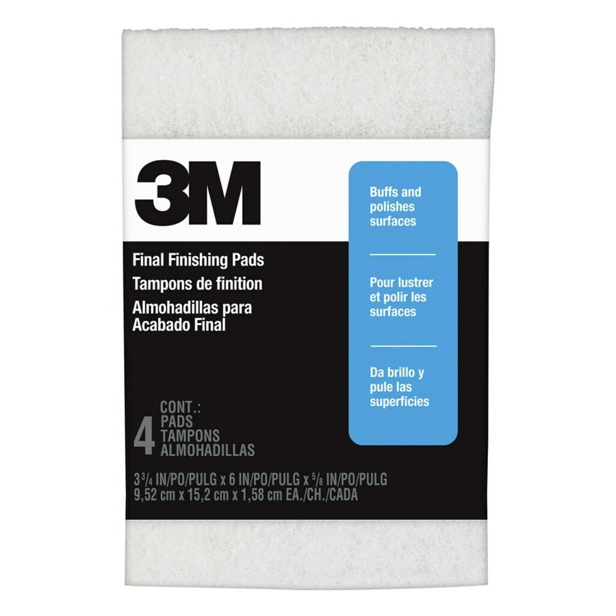 3M 3.75-in x 6-in Super Fine Steel Wool