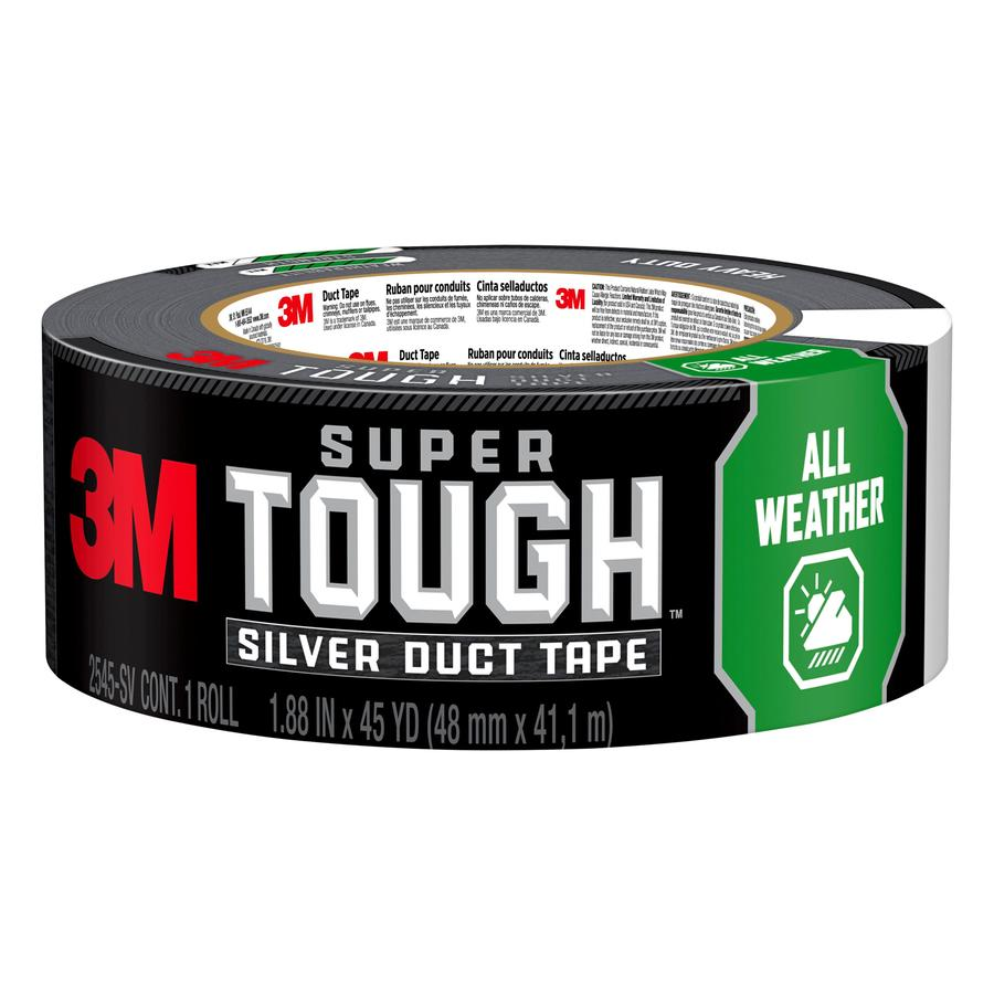 3M Tough 1.88-in x 45 Gray Duct Tape