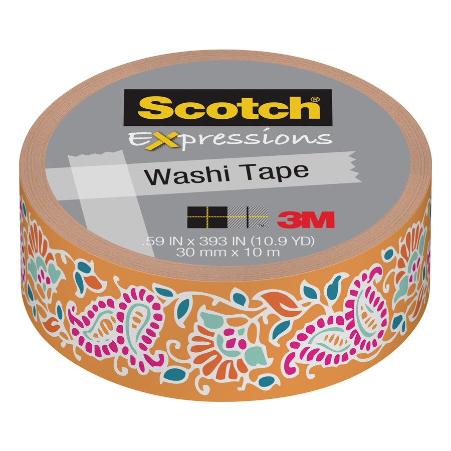 Scotch Washi Tape 0.59-in x 32.75-ft Duct Tape