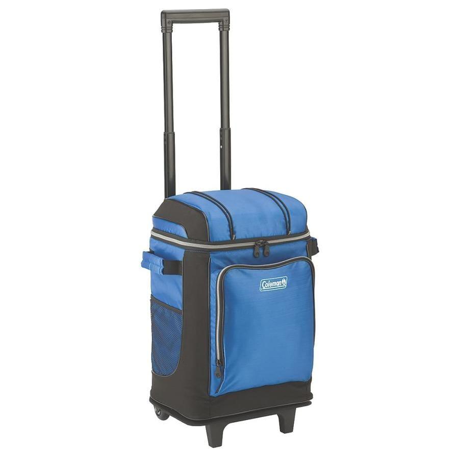 Coleman 21-Quart Wheeled Nylon Bag Cooler