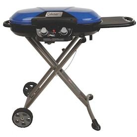 Coleman Roadtrip X-Cursion Blue 20000-BTU 285-sq in Portable Gas Grill