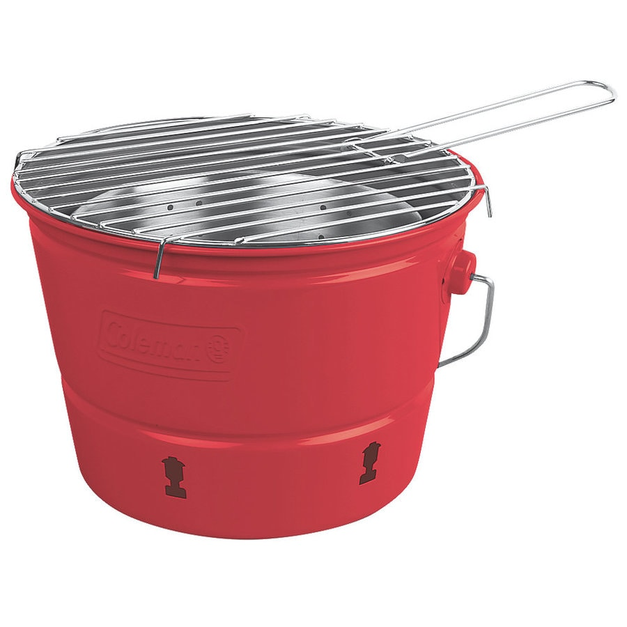 Coleman 82-sq in Red Portable Charcoal Grill