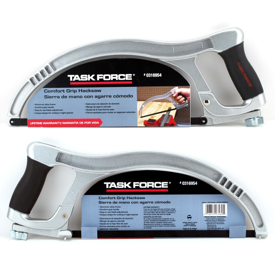 Task Force 12-in 24T High-Tension Hacksaw