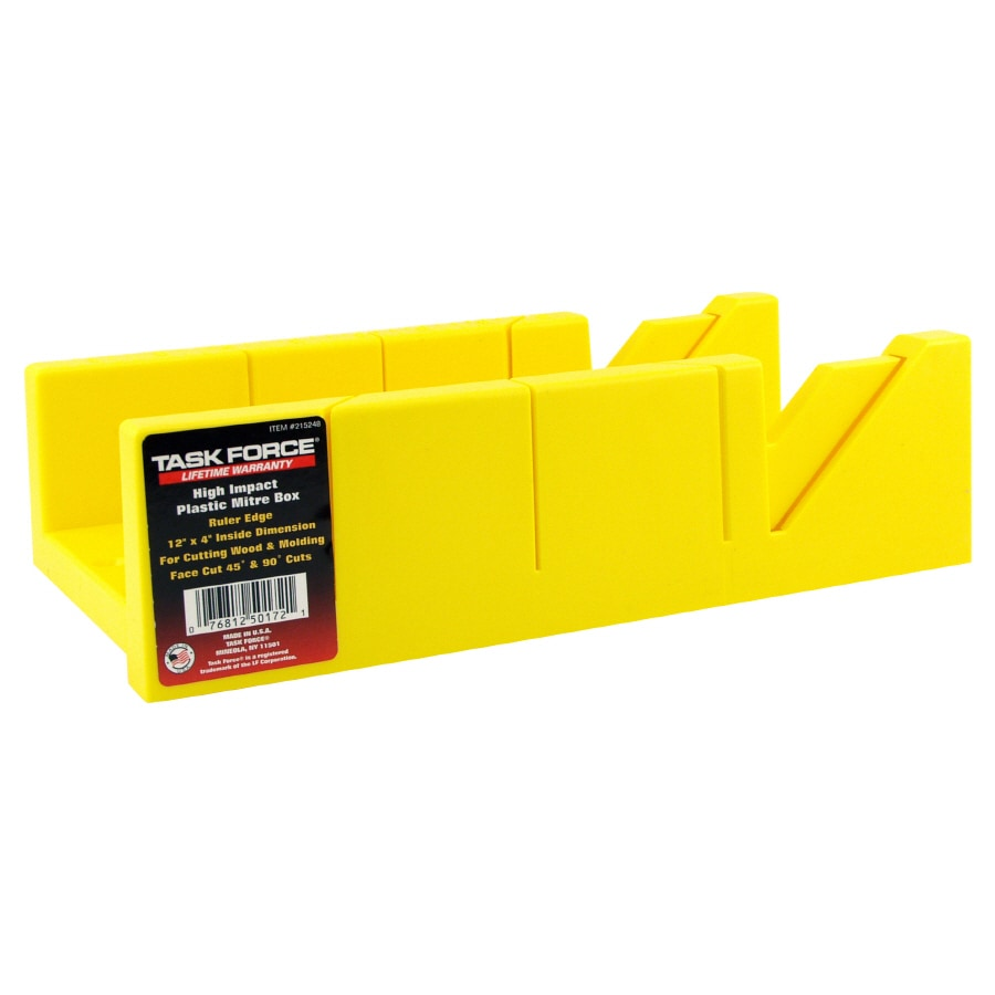 Task Force 12-in Plastic Miter Box