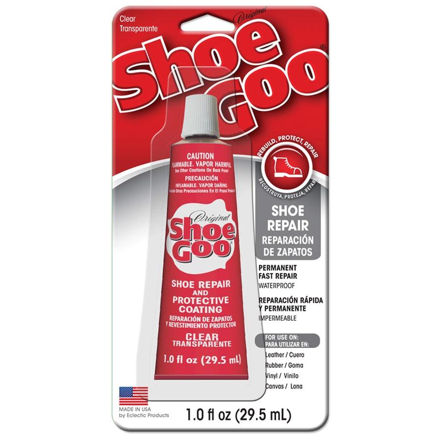 Shoe GOO Clear Interior/Exterior Shoe Repair Adhesive (Actual Net Contents: 1-fl oz)