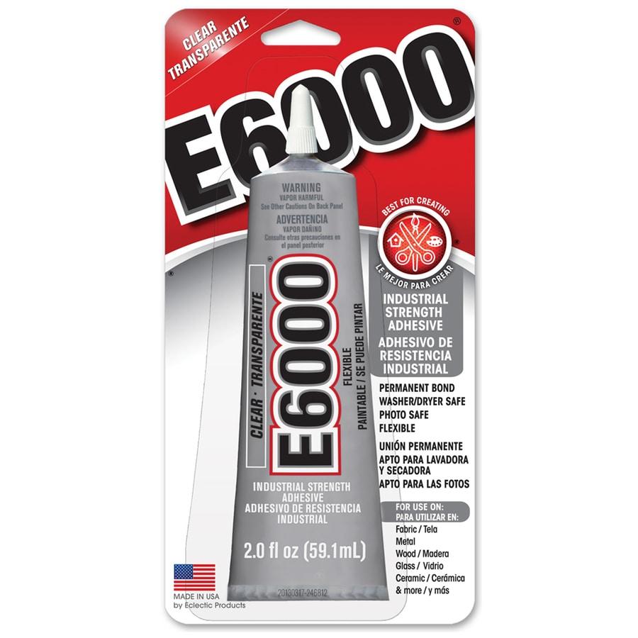 E6000 2-fl oz Bonding Clear Multipurpose Adhesive at Lowes com