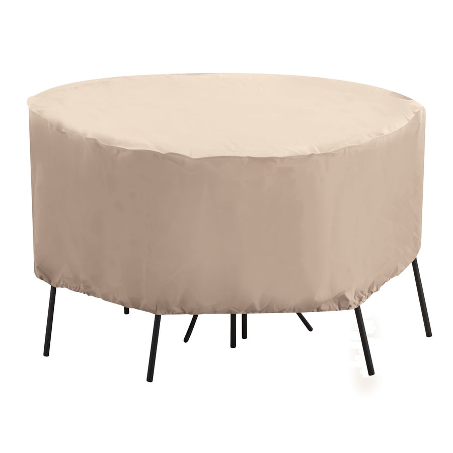 elemental Tan Polyester Bistro Set Cover