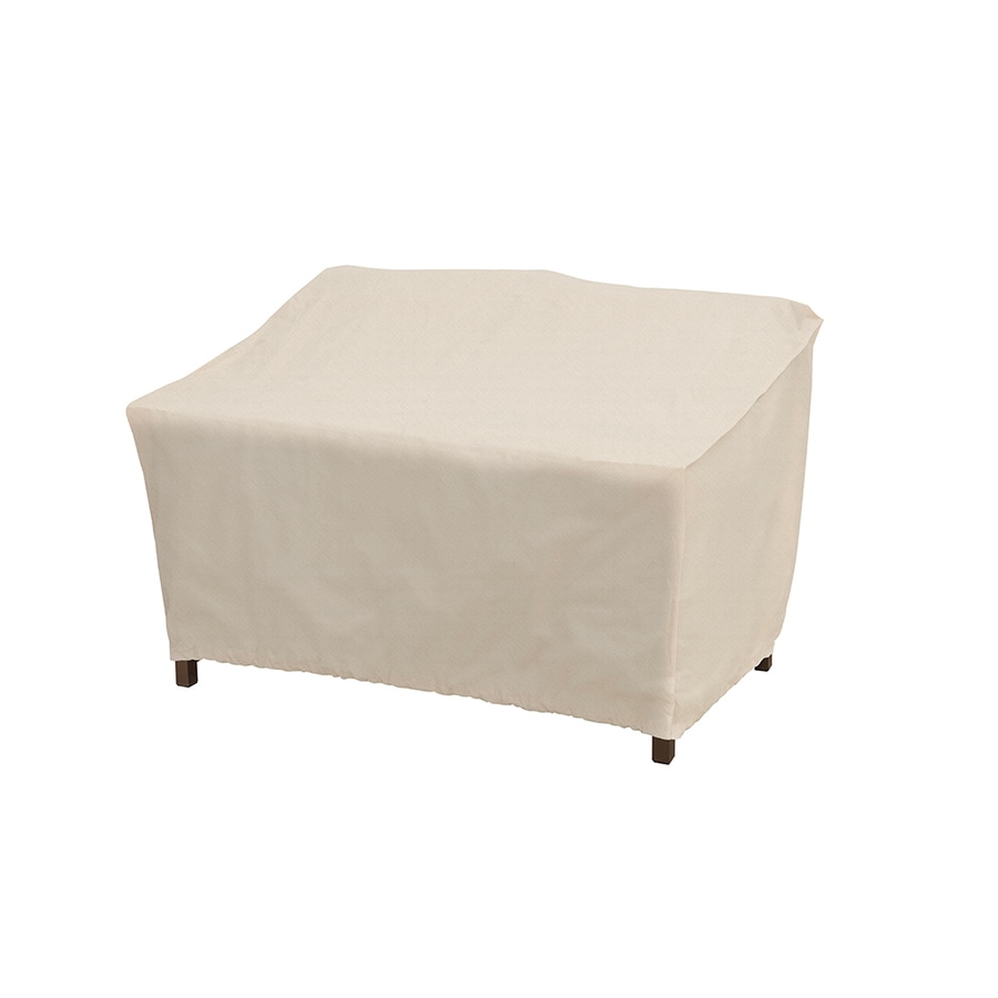 elemental Tan Polyester Loveseat Cover