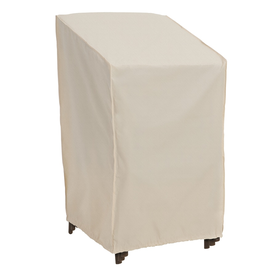 Elemental Tan Polyester Stacking Chairs Cover