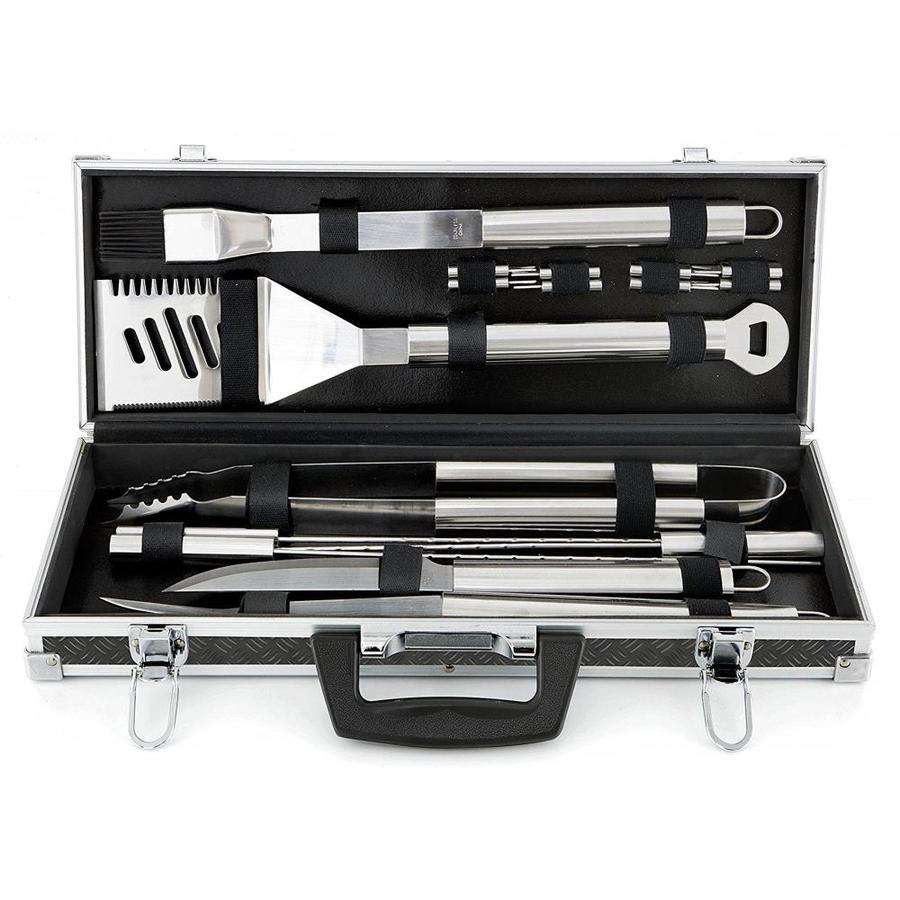 Mr Bar B Q 18 Pack Stainless Steel Tool Set