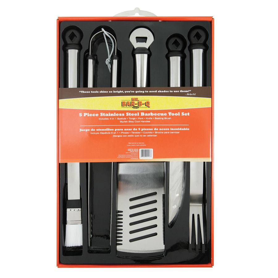 Mr. Bar-B-Q 5-Piece Grilling Tool Set