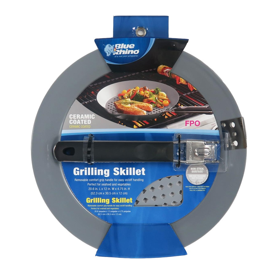 Blue Rhino 1-Piece 12.008-in Skillet