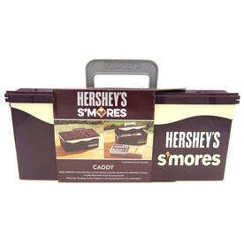 Hershey's Smores 5-in x 11-in Brown Rectangle Serving Caddy