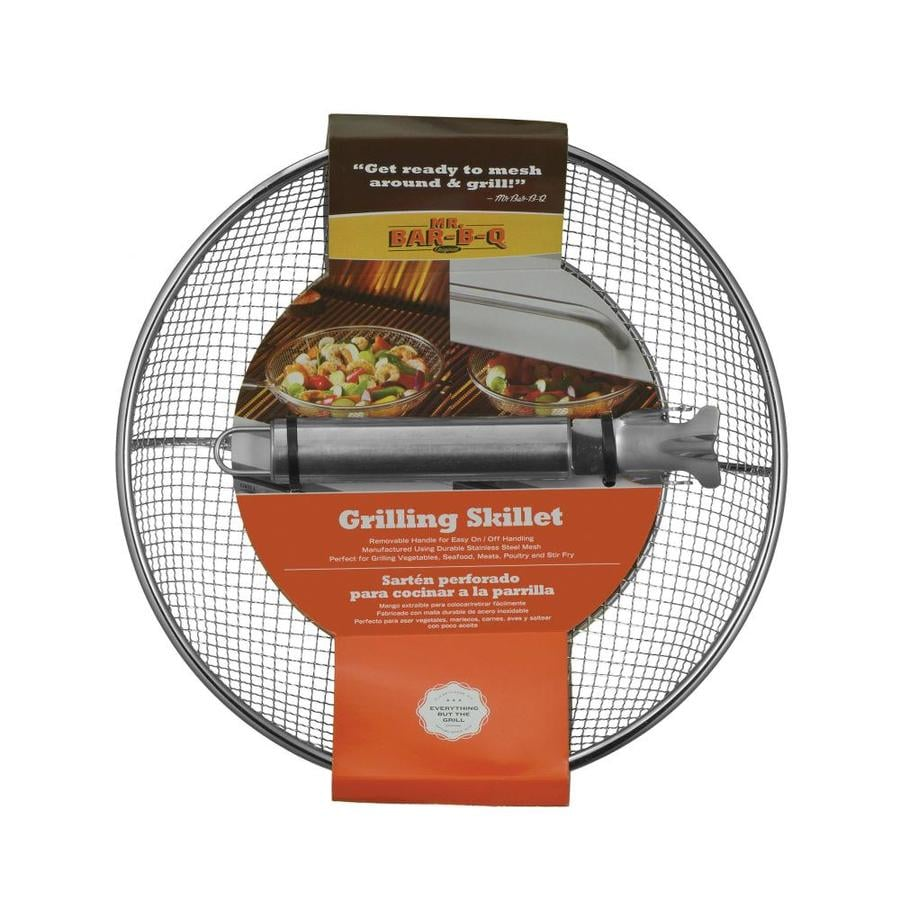Mr. Bar-B-Q Stainless Steel Grill Basket