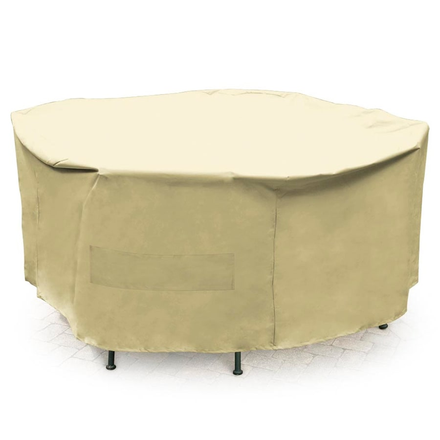 Shop Mr Bar B Q Taupe Dining Table Round Cover At
