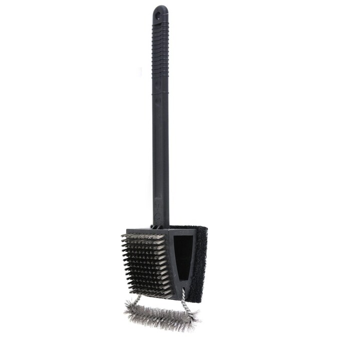 Mr Bar B Q Grill Brush And Scouring Pad In The Grill Brushes Cleaning Blocks Department At Lowes Com