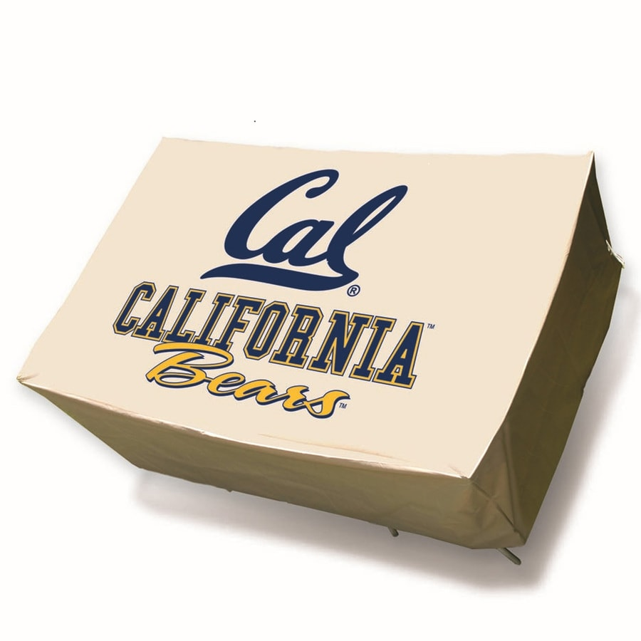 Mr. Bar-B-Q California Golden Bears Tan Dining Table Rectangle Cover