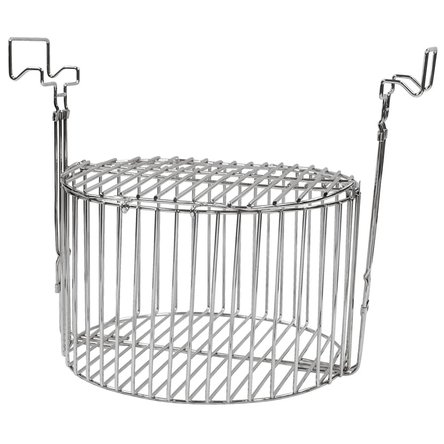 Mr. Bar-B-Q 10-in Steel Fryer Basket