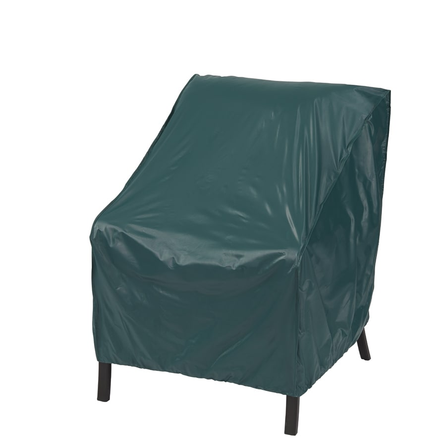 Shop garden treasures green adirondack chair cover at for Treasure garden patio furniture covers
