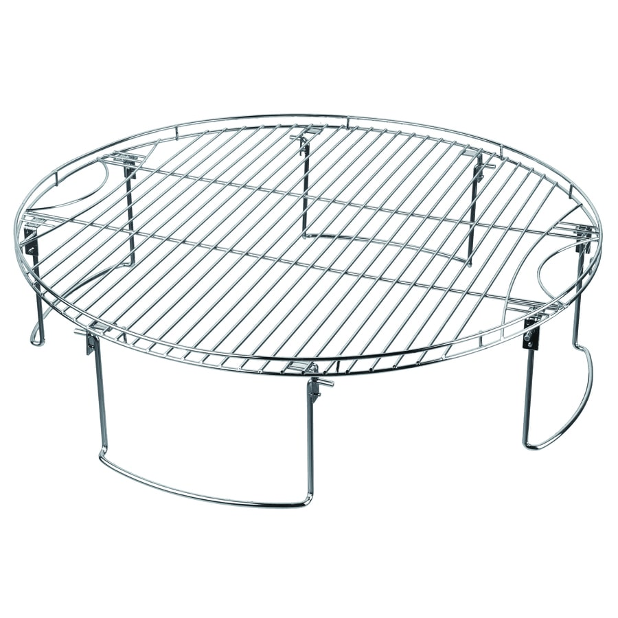 Mr. Bar-B-Q Round Plated Steel Grilling Grate