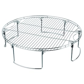 Mr. Bar-B-Q 25.75-in x 25.75-in 1 Round Plated Steel Cooking Grate