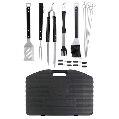 Mr. Bar-B-Q 20-Piece Stainless Steel Tool Set