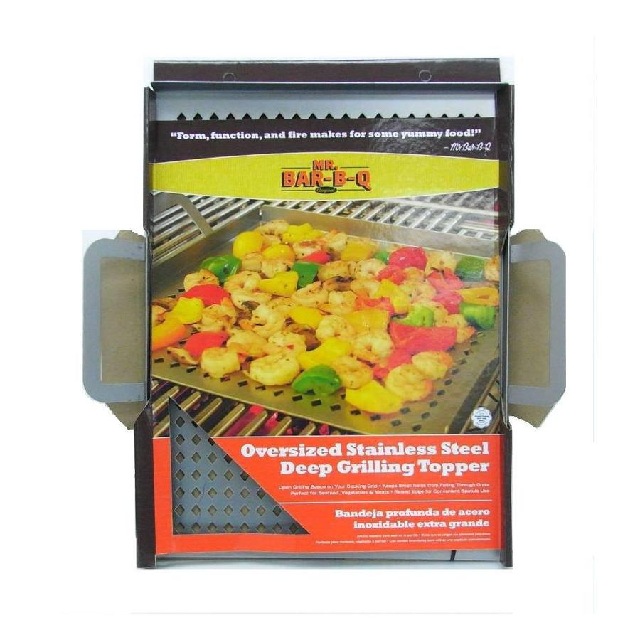 Master Forge Stainless Steel Grill Sheet