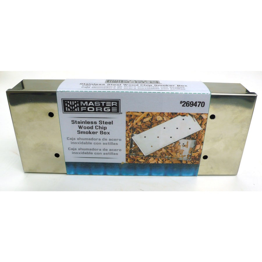 Master Forge Inches L x W x H Smoker Box $8.49 at lowe's online deal