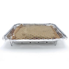 Mr. Bar-B-Q Disposable 10.35-sq in Silver Portable Charcoal Grill