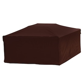 Rust Oleum Neverwet 38 In Black Square Firepit Cover In The Fire Pit Covers Department At Lowes Com